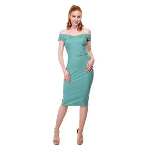 Collectif - Wiggle Dress - Eloise Pencil Dress